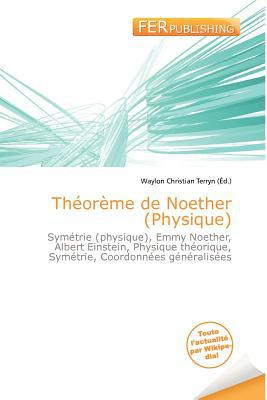 Th or Me de Noether (Physique) written by Waylon Christian Terryn