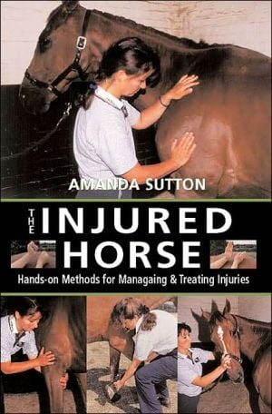 Injured Horse book written by Amanda Sutton