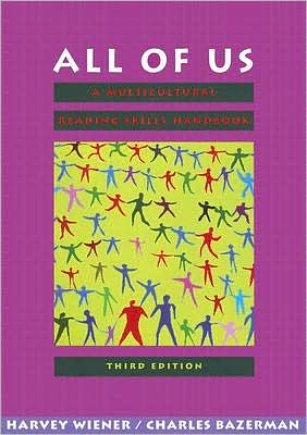 All of Us: A Multicultural Reading Skills Handbook book written by Harvey S. Wiener