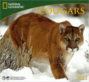 2012 Cougars - National Geographic Wall Calendar book written by Zebra Publishing