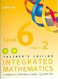 SIMMS Integrated Mathematics Level 6 written by Not Available