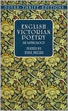 English Victorian Poetry ( Dover Thrift Edition Series): An Anthology written by Paul Negri