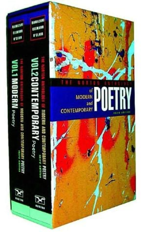 The Norton Anthology of Modern and Contemporary Poetry, Volumes 1 and 2 book written by Jahan Ramazani