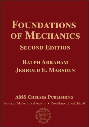 Foundations of Mechanics book written by Ralph Abraham