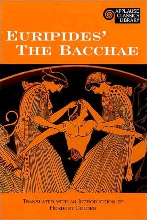 Euripides' The Bacchae book written by Euripides