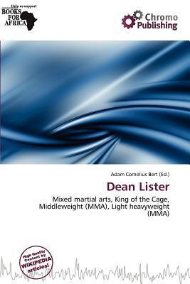 Dean Lister written by Adam Cornelius Bert
