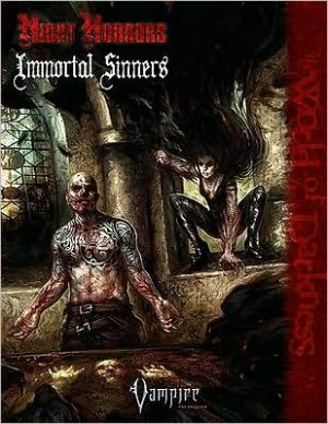 Vampire Night Horrors Immortal Sinners book written by Joseph Carriker