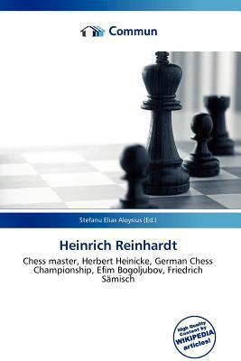 Heinrich Reinhardt written by Stefanu Elias Aloysius