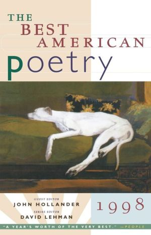 The Best American Poetry 1998 book written by John HollAnder