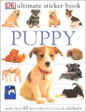 Puppy book written by DK Publishing