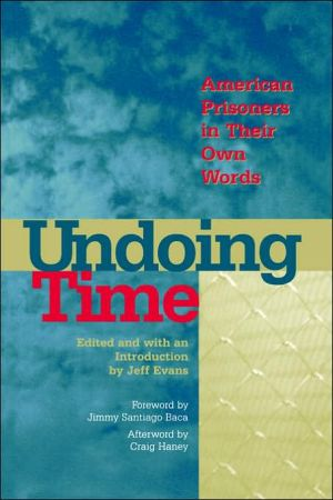 Undoing Time book written by Jeff Evans