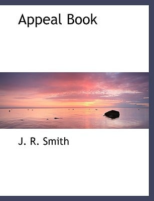 Appeal Book book written by Smith, J. R.