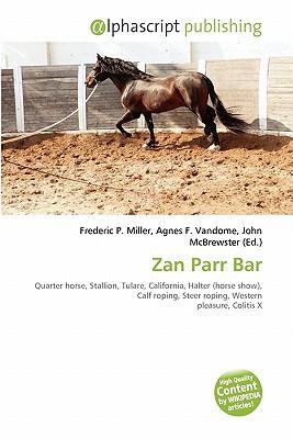 Zan Parr Bar written by Frederic P. Miller