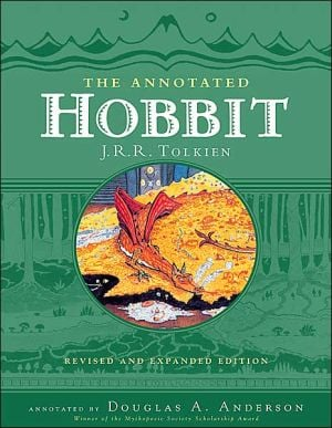 The Annotated Hobbit book written by J. R. R. Tolkien