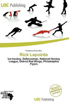 Rick Lapointe written by Timoteus Elmo