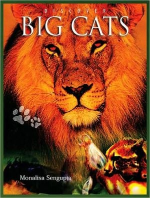 Discover Big Cats book written by Monalisa Sengupta