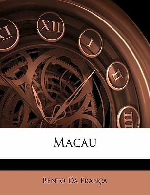 Macau book written by Da Frana, Bento