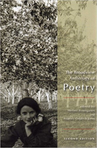 Broadview Anthology of Poetry book written by Herbert Rosengarten