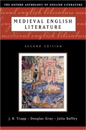 Medieval English Literature written by J. B. Trapp