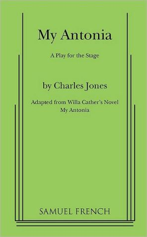 My Antonia book written by Charles Jones