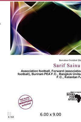 Sarif Sainui written by Barnabas Crist Bal
