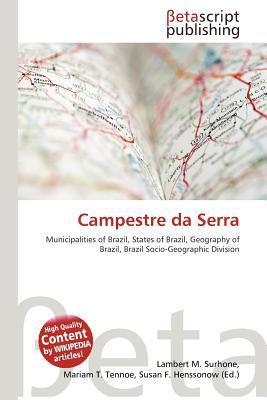 Campestre Da Serra written by Lambert M. Surhone