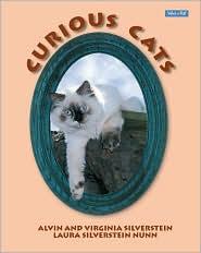 Curious Cats book written by Virginia Silverstein