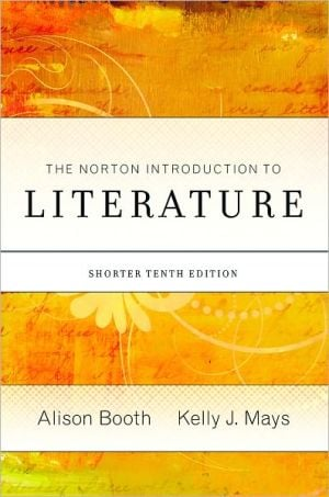 The Norton Introduction to Literature book written by Alison Booth
