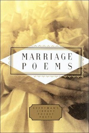 Marriage Poems (Everyman's Library) book written by John Hollander