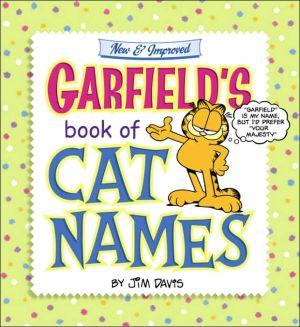 Garfield's Book of Cat Names book written by Jim Davis