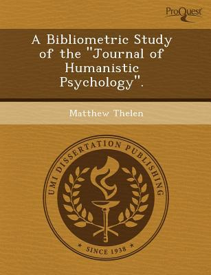 A Bibliometric Study of the written by John Michael Schreiner