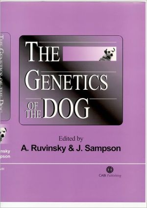 The Genetics of the Dog book written by Anatoly Ruvinsky