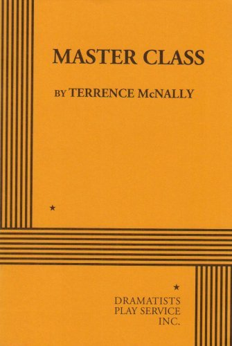 Master Class book written by Terrence McNally