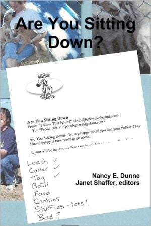 Are You Sitting Down written by Nancy E. Dunne