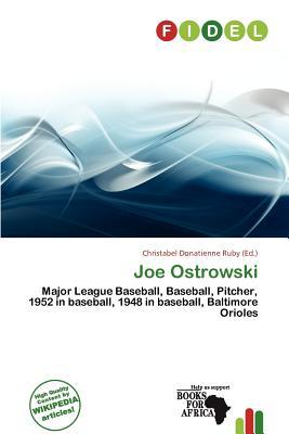 Joe Ostrowski written by Christabel Donatienne Ruby