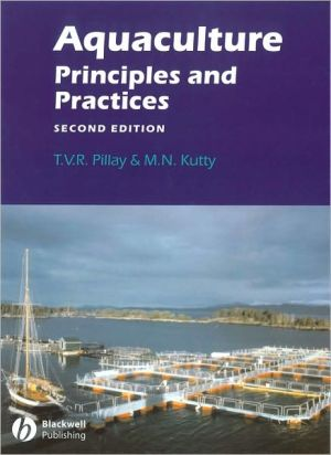 Aquaculture: Principles and Practices book written by T. V. R. Pillay