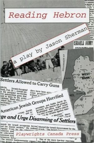 Reading Hebron book written by Jason Sherman