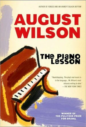 The Piano Lesson book written by August Wilson