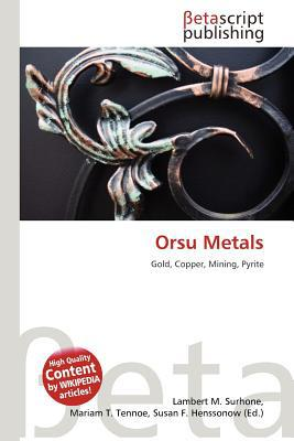 Orsu Metals written by Lambert M. Surhone