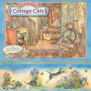 2011 Cottage Cats By Kim Jacobs Wall Planners Calendar book written by Kim Jacobs