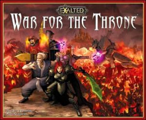 Exalted War for the Throne book written by White Wolf