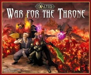 Exalted War for the Throne written by White Wolf