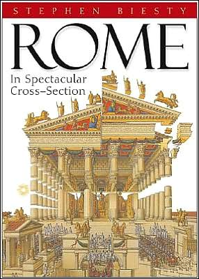 Rome: In Spectacular Cross Section book written by Stephen Biesty