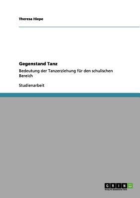 Gegenstand Tanz written by Theresa Hiepe