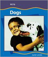 Dogs book written by June Loves
