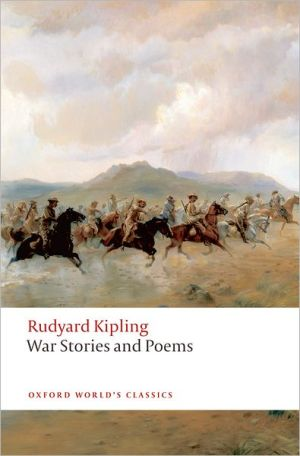 War Stories and Poems book written by Rudyard Kipling