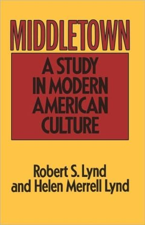 Middletown book written by Lynd