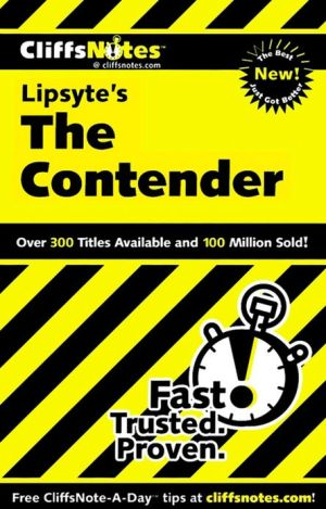 CliffsNotes The Contender book written by Stanley P. Baldwin