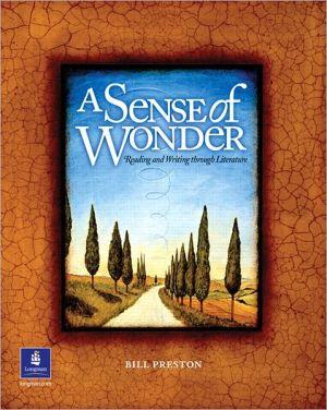 Sense of Wonder written by William Preston