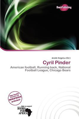 Cyril Pinder written by Jerold Angelus